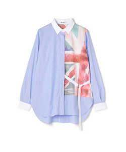 DIRECTOIRE ユニオンジャックピンストシャツ