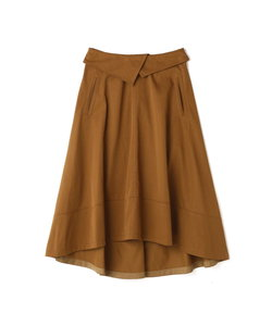 dunadix チノボリュームフレアスカート