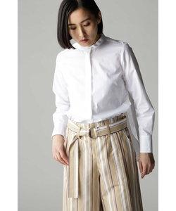 DIRECTOIRE ワイドピンストライプクルーシャツ