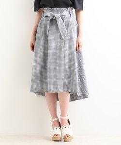 ウエストフリルラップスカート