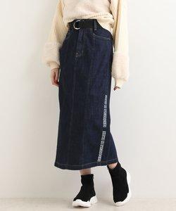 サイドロゴラインスカート