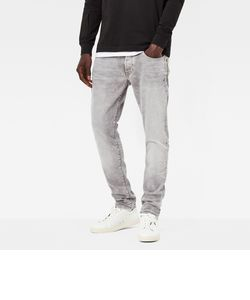 3301 Straight Tapered / Kamden grey stretch denim