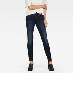 Lynn Mid Skinny Wmn / Slander blue superstretch