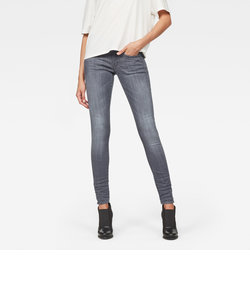 Lynn d-Mid Super Skinny Wmn / Render grey ultimate stretch denim