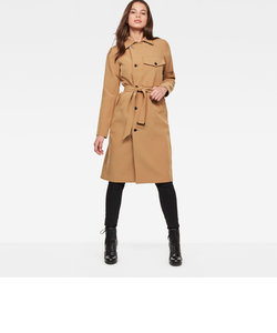 Aefon trench wmn / Dante stretch drape