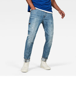 Lanc 3D Straight Tapered / Rider stretch denim