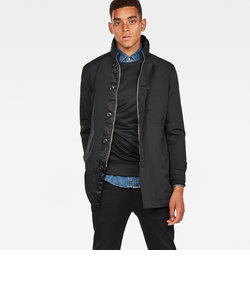 Garber denim trench / Vector nylon I wr
