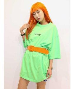 KOL ME BABY GOODE neonTシャツ