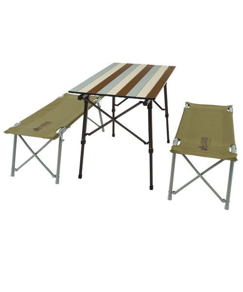 LLオートレッグベンチテーブルセット4ヴィンテージ