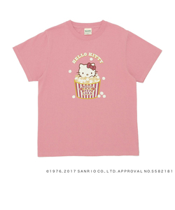 HELLO KITTY×LaundryポップコーンTシャツ