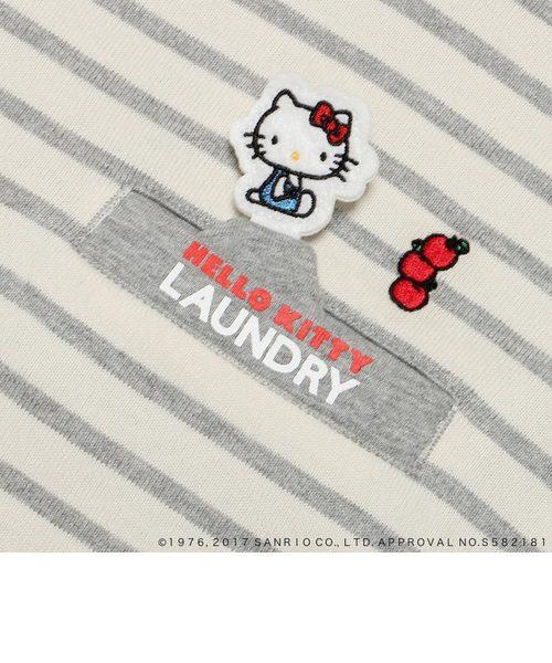 HELLO KITTY×LaundryボーダーTシャツワンピース