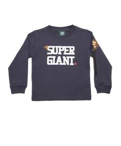 キッズ SUPER GIANT長袖Tシャツ