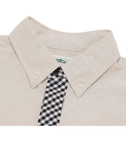 ネクタイ風シャツ