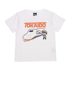 キッズ 東海道新幹線N700系×LaundryコラボTシャツ