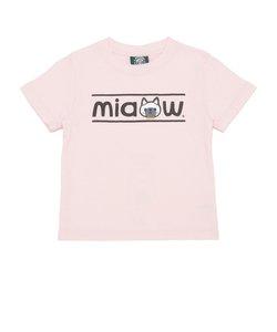 キッズ miaowシャム猫Tシャツ