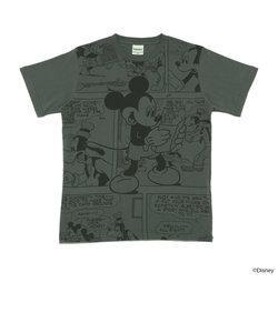 Laundryディズニー限定デザインコミック柄Tシャツ