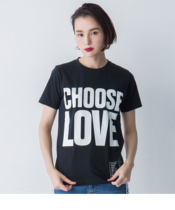 【KEH】 CHOOSE LOVE T(WOMENS)