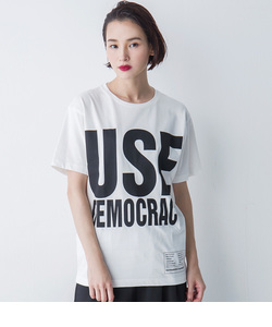 【KEH】 USE DEMOCRACY BIG T(WOMENS)