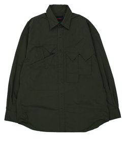 【HAMNETT】 MILITARY SHIRT / ミリタリーシャツ