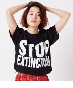 【KEH】 STOP EXTINCTION(WOMENS) / メッセージT