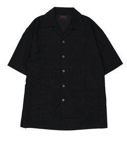 【HAMNETT】 ARCHIVE OPEN COLLAR SHIRT / アーカイブオープンカラーシャツ