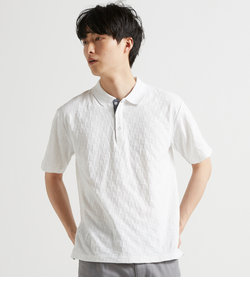 【LAB】 CHECK PATTERN LINKS POLO / 格子柄リンクスポロ