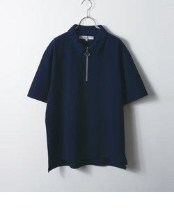 HALF ZIP SHIRT / ハーフジップシャツ
