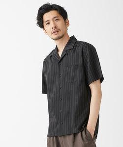 ナノテック ストレッチTR オープンカラーシャツ