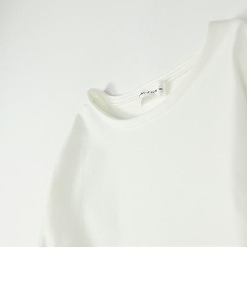 【限定】ラウンドロング丈長袖Tシャツ