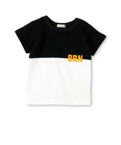 パイル切替え半袖Tシャツ