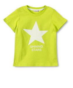 星プリント半袖Tシャツ