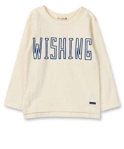 【タフT】手描き風ロゴ長袖Tシャツ