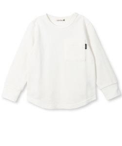 ハチス編み長袖Tシャツ