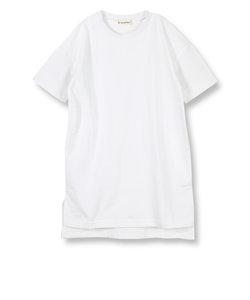 ビックシルエット半袖ワンピース