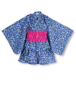 小花柄セパレート浴衣