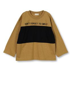 切り替え長袖Tシャツ