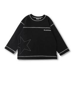 【CONVERSE】配色ステッチ長袖Tシャツ