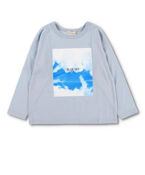 フォトプリント長袖Tシャツ