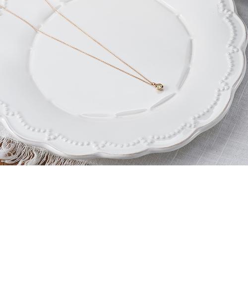 スタリーゼ ムーンコレットネックレス K18ピンクゴールドカラー