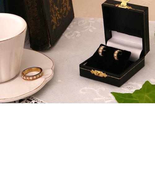 シャンセット オパール リング K18シャンパンゴールドカラー