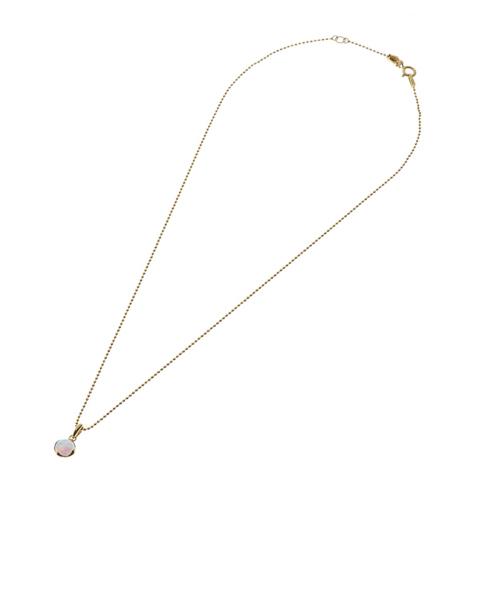 シャンセット オパール ラウンドネックレス K18シャンパンゴールドカラー