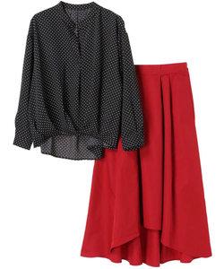 SET2点 ブラウス+スカート