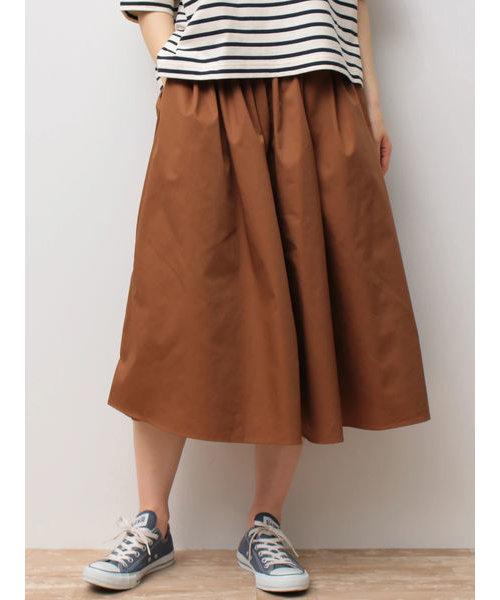 SET2点 半袖ボーダーカットソー+スカーチョ