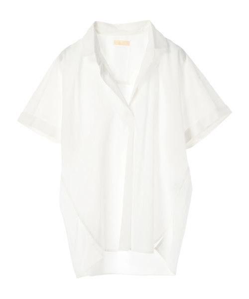 ・40キャンブリックスクエアシャツ