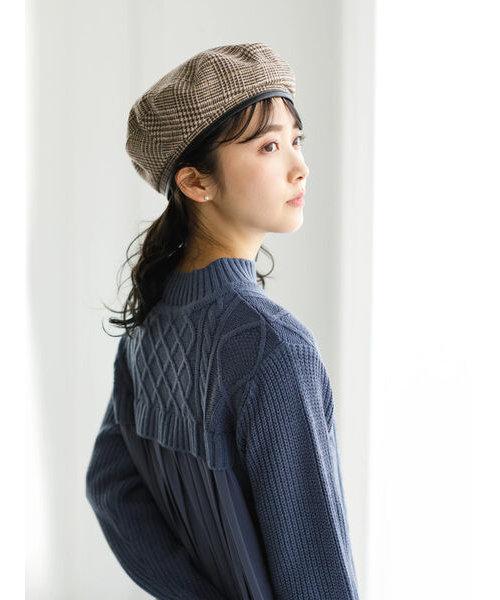 リバーシブベレー帽