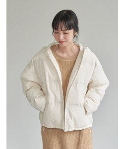 パウダー綿ショートブルゾン