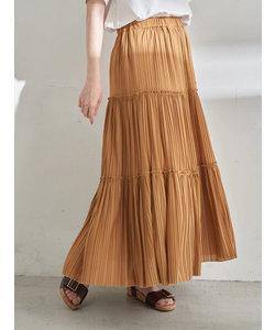 カットチュールプリーツスカート