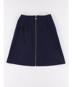 M フロントZipスカート