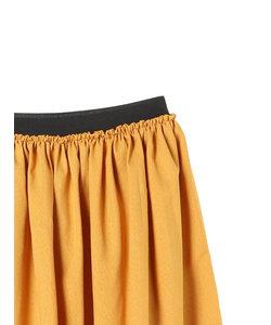 ・麻調ギャザースカート