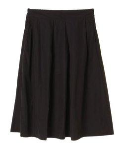 カラータックフレアスカート